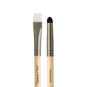 eyeliner brown brush